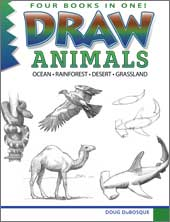 Draw Animals, by Doug DuBosque