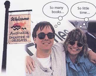 Susan Joyce and Doug DuBosque, Australia 1998